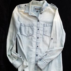 Express Chambray Denim Shirt